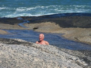 The author skinny dipping - rest is best  unseen?