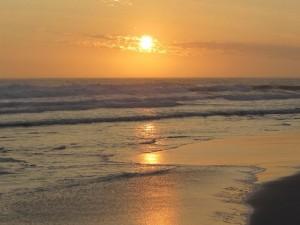Unbelievable Korinkorrelbaai sunset